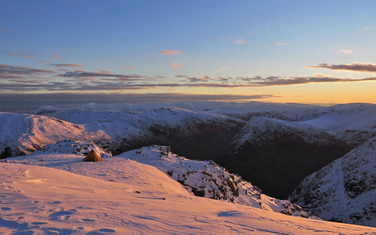 Sunrise on High Stile